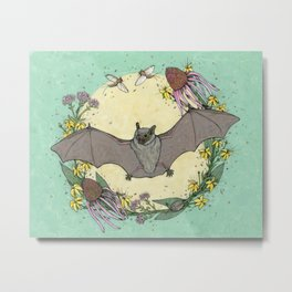 big brown bat. Metal Print