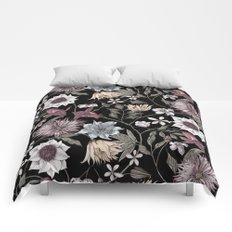 colorful floral pattern II Comforters