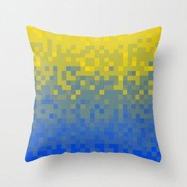 Pixel colour Throw Pillow