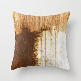 Rust 05 Throw Pillow