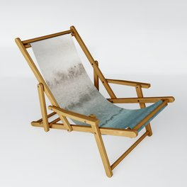 WITHIN THE TIDES - CRASHING WAVES TEAL Sling Chair