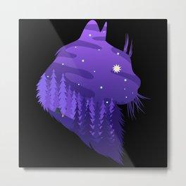 Landscape animal1 Metal Print