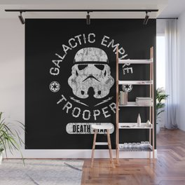 """Galactic Empire Troopers"" by Josh Ln Wall Mural"