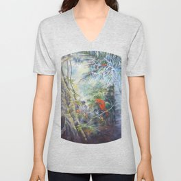 Tropical Rainforest Unisex V-Neck