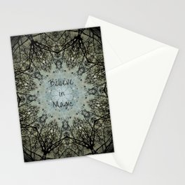 Believe in Magic Stationery Cards