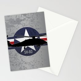 SH-60 Seahawk Helicopter Stationery Cards