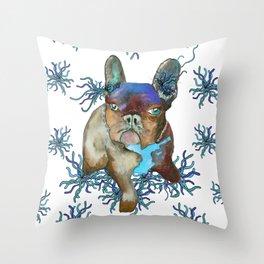 Sea Critter Throw Pillow