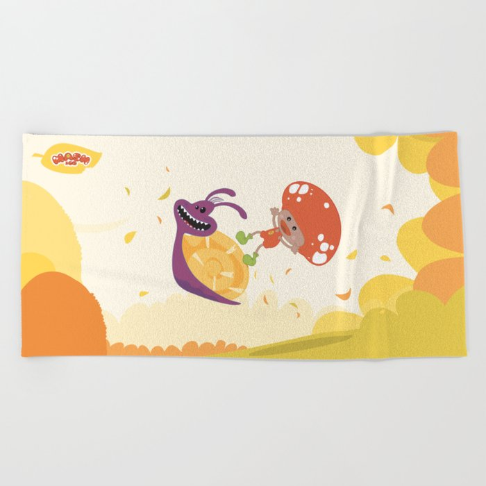 Mash&Co Jumping  Beach Towel
