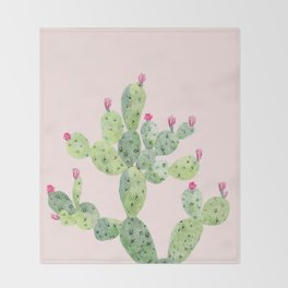 Cactus I Throw Blanket