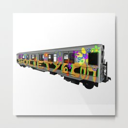 subway art Metal Print