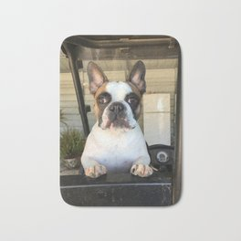 French Bull  Dog  Puppies Bath Mat