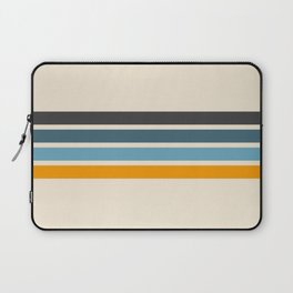 Vintage Retro Stripes Laptop Sleeve