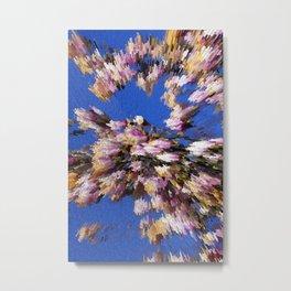 Abstract magnolia Metal Print