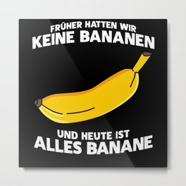 DDR And Ossi Saying With A Funny Joke Metal Print