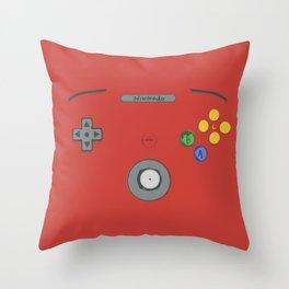 I love my N64! Throw Pillow