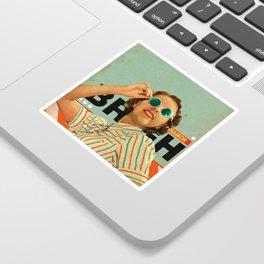 Bright Cinnamon Sticker