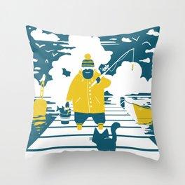 Lunch Throw Pillow