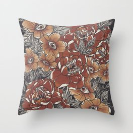 Don't look at me that way Throw Pillow