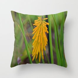 Sizzling in Saffron Throw Pillow