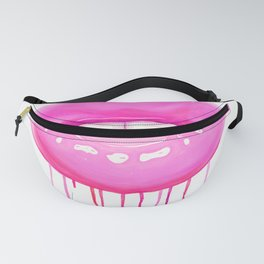 Pink lips Fanny Pack