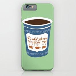 NY Coffee iPhone Case