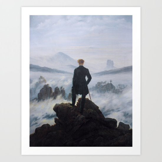 Wanderer above the Sea of Fog by historia-images