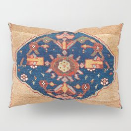 Bijar Kurdish Northwest Persian Rug Print Pillow Sham