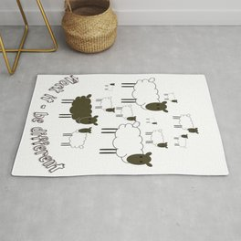 Flock It - Be Different Rug