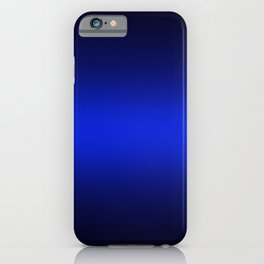 Gradient 8 back blue deepspace iPhone Case