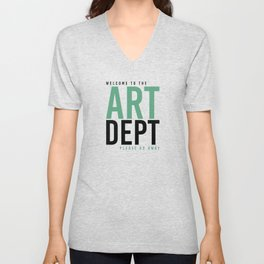 ART DEPT GOO 2 GO AWAY Unisex V-Neck