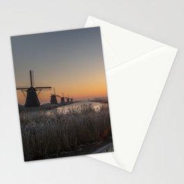 Kinderdijk Sunrise Stationery Cards