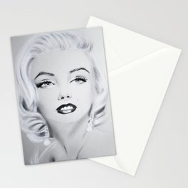 Glamour Marilyn M Stationery Cards