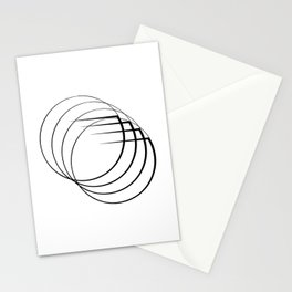 """"""" Eclipse Collection"""" - Minimal Letter G Print Stationery Cards"""