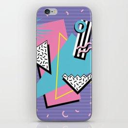 Memphis Pattern 57 - 80s - 90s Retro / 2nd year anniversary design iPhone Skin