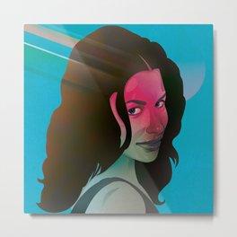 Classy- Evangeline Lilly Metal Print