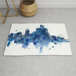 Going Downtown: Detroit Rug