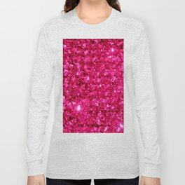 SparklE Hot Pink Long Sleeve T-shirt