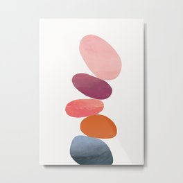 Balancing Stones 23 Metal Print