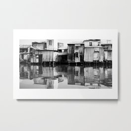 View from the Mekong River Metal Print