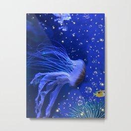 Jellyfish Angel Metal Print
