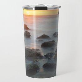 Sunset Near Pewetole Island Travel Mug