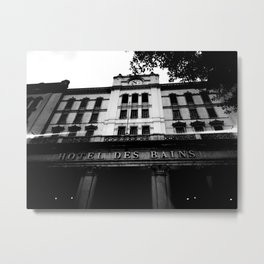 Grand Hotel Des Bains Metal Print