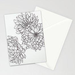 Ink Illustration of Summer Blooms Stationery Cards