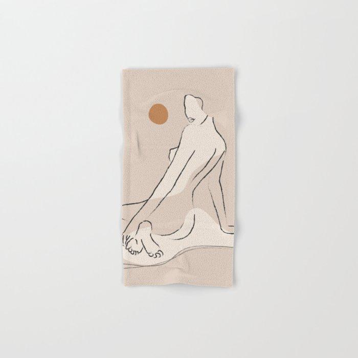 Nude 2 Hand & Bath Towel