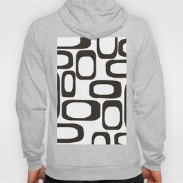 Mid Century Modern Shapes Black And White #society6 #buyart Hoody