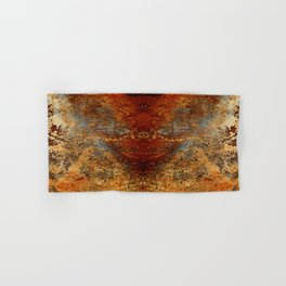 Beautiful Rust Hand & Bath Towel