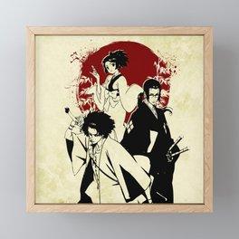Samurai champloo Framed Mini Art Print