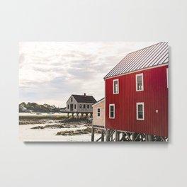 Coastal Maine Mornings I Metal Print