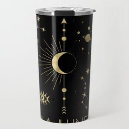 The Moon or La Lune Gold Edition Travel Mug