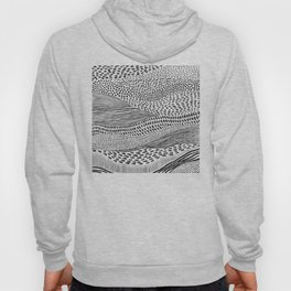 Hand Drawn Patterned Abstract II Hoody